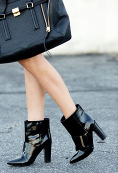 See by Chloe booties via A House in the Hills