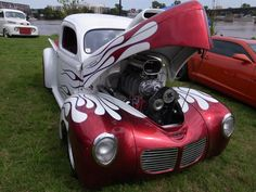 a car show