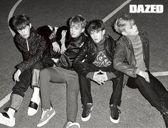 Seventeen's performance team get together for 'Dazed' pictorial | allkpop.com