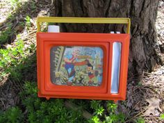 Pinocchio Musical TV Toy Vintage Disney by WillowValleyVintage