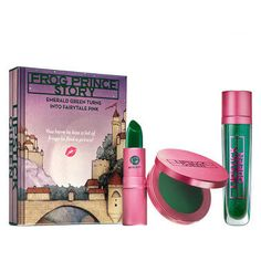 Lipstick Queen <p>Everyone's favourite colour-adapting collection, this fairy tale trio transforms from emerald green to rosebud pink upon contact with the skin. Perfect for those who love a little bit of magic!</p>
