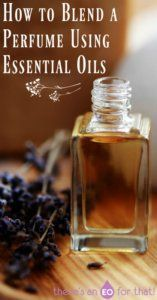 How to Blend a Perfume Using Essential Oils - Create homemade essential oils blends that smell amazing! #EssentialOilBlends