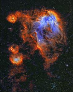 12.3 тыс. отметок «Нравится», 117 комментариев — @space в Instagram: «Describe this in one word/emoji A nebula full of gas where stars are formed: named the Running…»