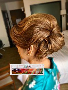 Peinado para la mama de la novia