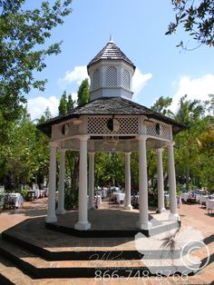 Gazebo for weddings and entertainment