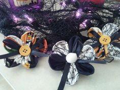 Halloween hair bows : )
