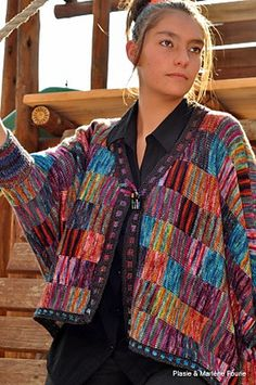 Ravelry: Plasie's Bat cardigan #knitting #oneofakindyarns #merino