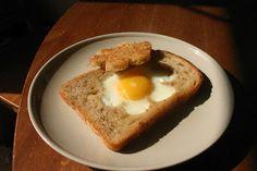 Fried Egg Bread