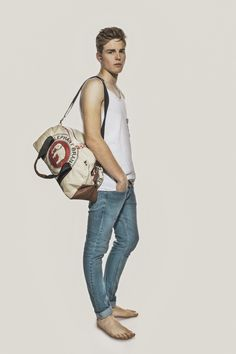 Looking fresh - Elephbo bag for him - 2014 Series Sustainable Fashion, Overalls, The Past, Sporty, Pants, Universe, Men, Fresh, Beautiful