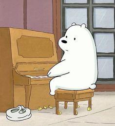 Ice Bear We Bare Bears, 3 Bears, Cute Bears, We Bare Bears Wallpapers, Cute Wallpapers, Bear Cartoon, Cute Cartoon, Bear Pictures, Cute Pictures