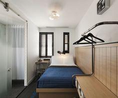 ポッド 39, New York, ダブルサイズベッド 1 台 (Double Pod), 客室