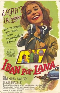 Bande à part spanish movie poster Jean-Luc Godard