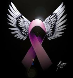Breast Cancer with wings