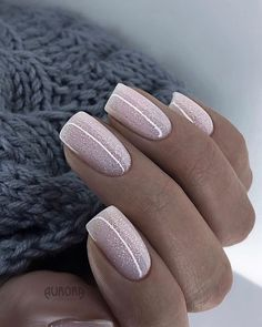 70 Beautiful Natural Short Square Nails Design For Winter Nails & Spring Nails 2020 - Page 5 of 14 - The Secret of Modern Beauty Shiny Nails, Dope Nails, Gel Nails, Winter Nail Designs, Nail Polish Designs, Nails Design, Gel Polish, Square Nail Designs, Short Nail Designs