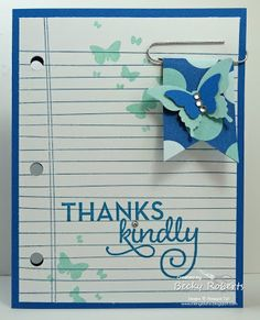 Inking Idaho: Words of Truth & Writing Notes Becky Roberts, Paper Crafts, Diy Crafts, Rubber Stamping, Butterfly Cards, Love My Job, Close To My Heart, Love Cards, Card Designs