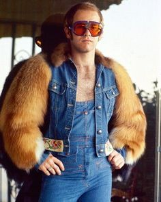 Denim. With. Fur. Sleeves! I had this poster in my college dorm room! Mel