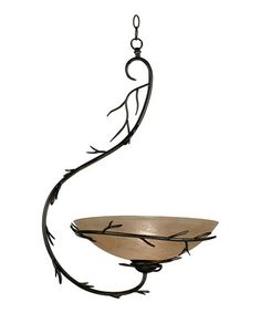 Another great find on #zulily! Rustic Pendant Light #zulilyfinds