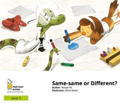 Is it wrong to be best friends with someone who is different? A story of overcoming prejudices and learning about sorting with Venn diagrams. English Story, English Book, Online Grammar Checker, Logic Questions, Free Kids Books, Book Reviews For Kids, Kindergarten Books, Charts For Kids, Cheer Up
