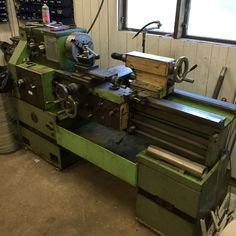 Got me a used lathe for free this summer. Just need som love and care.