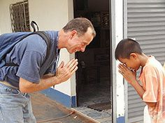 The wai wai pinterest greeting words and learn thai a thai boy perfoms a wai greeting with a foreigner m4hsunfo