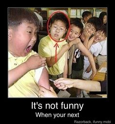 Bahaha that kids face is priceless!