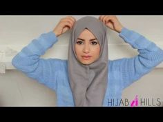 ▶ Quick and Simple Hijab Style! - YouTube
