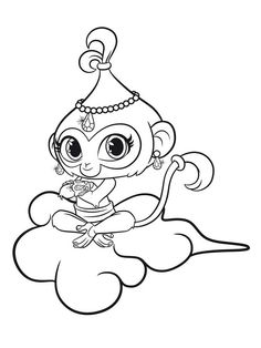 """shimmer and shine coloring pages for free. coloring pages """"Shimmer and Shine"""", an American-Canadian television series, has already taken the world by storm. The story of """"Shimmer and Shine"""" rev. Ballerina Coloring Pages, Mermaid Coloring Pages, Bible Coloring Pages, Free Adult Coloring Pages, Coloring Pages For Girls, Cartoon Coloring Pages, Animal Coloring Pages, Coloring Pages To Print, Coloring For Kids"""