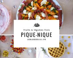 Un pique-nique chic, romantique et champêtre et des recettes, c'est sur le blog de Lili Vegan Vegetarian, Vegetarian Recipes, Food Inc, Picnic, Food And Drink, Cooking, Healthy, Blog, Concert