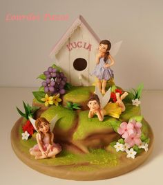 Happy Birthday Lucía - Cake by Lourdes Pazos