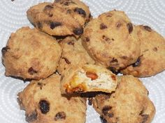 Cookies croustillants dukan - La cuisine de Fanie Cookies, Muffin, Breakfast, Desserts, Food, Chocolate Curls, Drizzle Cake, Kitchens, Thermomix