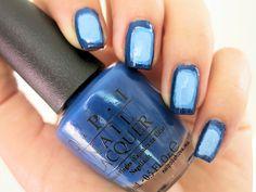 A de Azul #nails #nailpolish #RetoABC #esmaltes