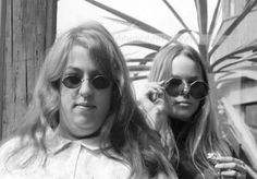 Cass Elliot and Michelle Phillips, 1960s