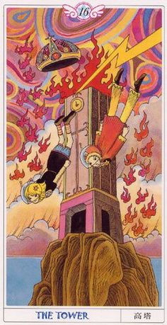 Card of the Day – The Tower – Friday, July 13, 2018 « Tarot by Cecelia