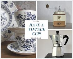 FRESH VINTAGE is ALWAYS BREWING at the shops of VINTAGE AND MAIN. Come browse and discover 30+ quality shops with new vintage items added each day!