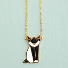 Origami Fox Necklace by Janny Dangerous  IS IT A FOX? OR A CAT?
