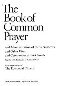 Episcopalian Book of Common Prayer