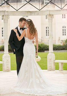 Tendance Robe du mariage 2017/2018 Old Hollywood Glamour Wedding Dress   Stella York 6371   trib.al/Ac0J0Pg