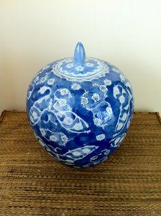 Blue & White Ginger Jar | Twin Interiors