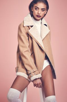 OUT IS IN #MISSGUIDED #OUTERWEAR