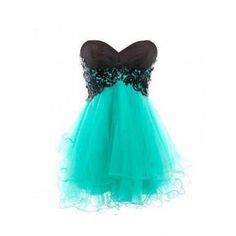 Shop Princess Strapless Short/Mini Organza Blue Homecoming Dress with... (£77) ❤ liked on Polyvore featuring dresses, blue cocktail dresses, short blue dresses, cocktail prom dress, mini dress and homecoming dresses