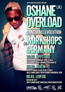 DANCEHALL WORKSHOP mit OSHANE (Overload Skankaz) aus Jamaica in Leipzig
