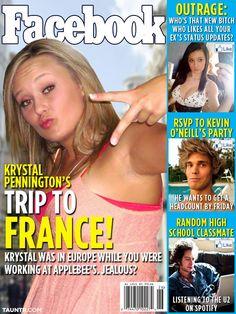 Facebook magazine.