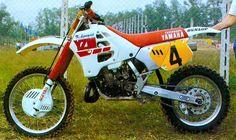 Yamaha Motocross, Enduro Motorcycle, Yamaha Bikes, Vintage Bikes, Vintage Motorcycles, Vintage Toys, 2 Stroke Dirt Bike, Mx Bikes, Vintage Motocross