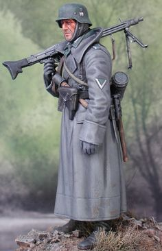 German machine gunner, Tamiya model by Greg Garcia