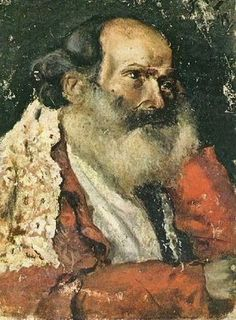 Portrait d`un homme barbu (Portrait bearded man d`un), 1895