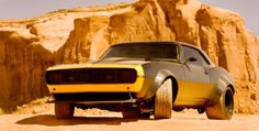 Finally a best looking Camaro ever, a 69 Camaro for Bumblebee. I'm glad, can't wait to see Transformers 4.  µ/—X)