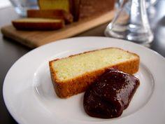 Cake à la ricotta, caramel aux figues