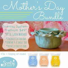 Mom's love Scentsy!  Mother's Day 2015