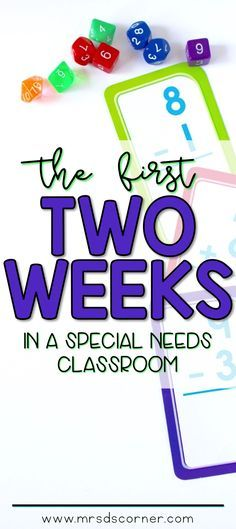 The first two weeks of schools are critical in any classroom. especially in a special needs classroom. We need to be on our game all. time - visual schedules ready, intentional and functional activities planned, and so much more than what actually Classroom Schedule, Life Skills Classroom, Autism Classroom, School Classroom, Classroom Activities, Classroom Ideas, Preschool Schedule, Future Classroom, Classroom Organization