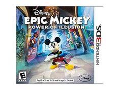 Epic Mickey: Power of Illusion Nintendo 3DS Game Disney